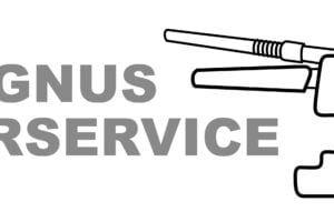 Magnus rörservice logo